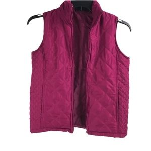 5/$25 Jane Ashley quilted Vest